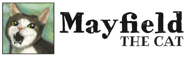 Mayfield the Cat Retina Logo
